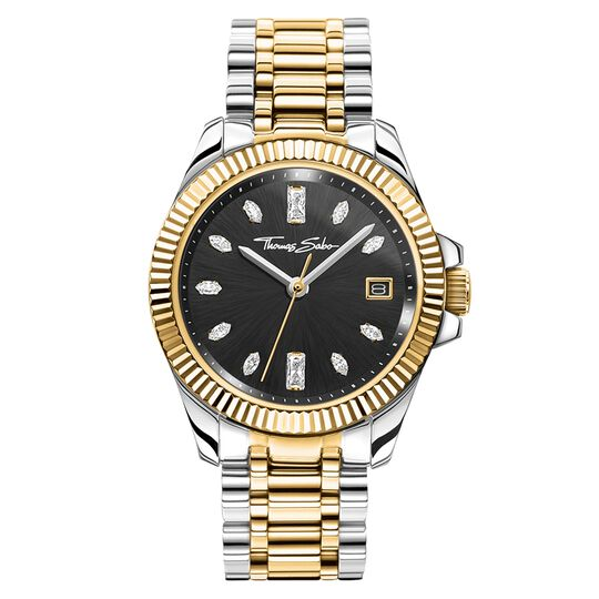 Women's watch two-tone gold silver from the Glam & Soul collection in the THOMAS SABO online store