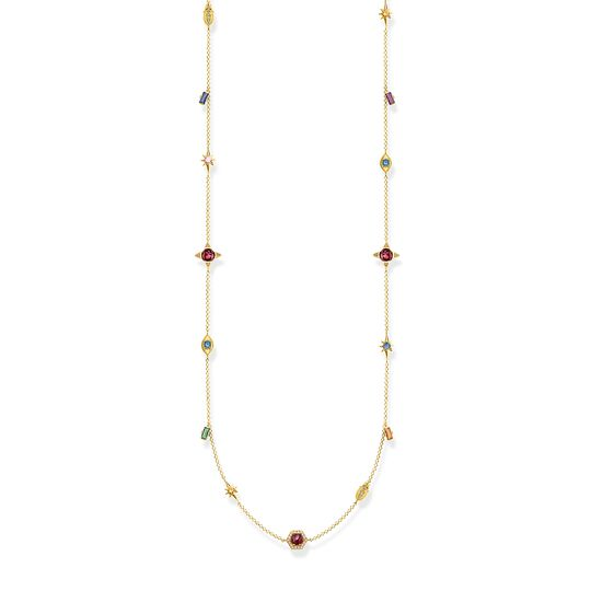 necklace Colourful stones, gold from the  collection in the THOMAS SABO online store