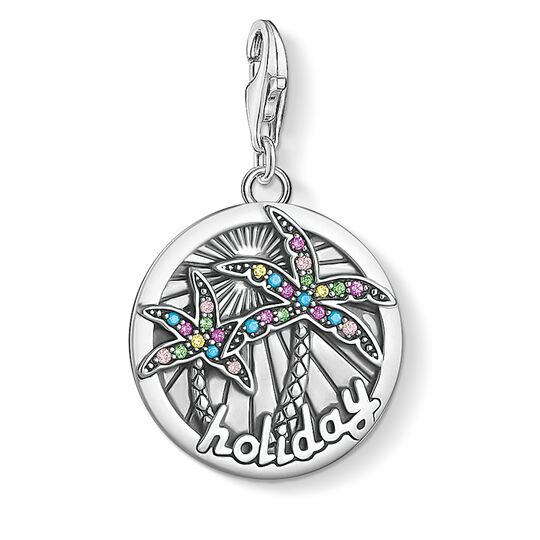 Charm pendant disc tropical  from the  collection in the THOMAS SABO online store