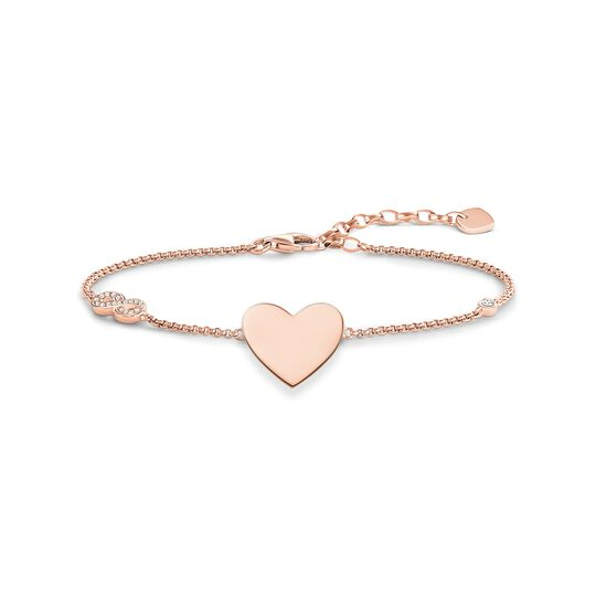 bracelet Heart with infinity from the Glam & Soul collection in the THOMAS SABO online store