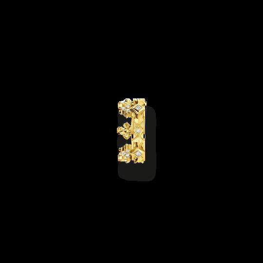 Einzel Ohrklemme Krone gold aus der Glam & Soul Kollektion im Online Shop von THOMAS SABO