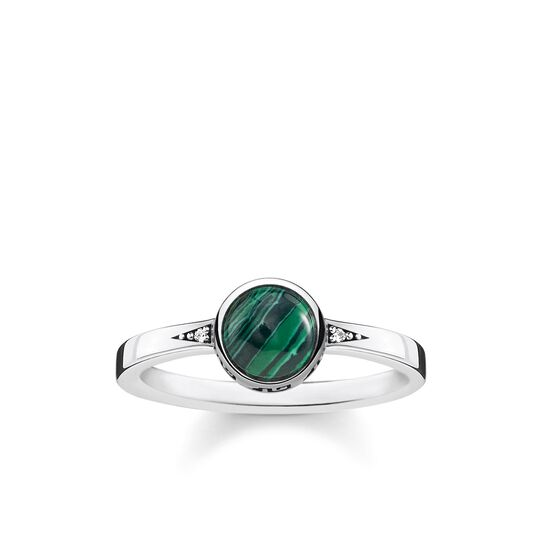 """ring """"green stone"""" from the Glam & Soul collection in the THOMAS SABO online store"""
