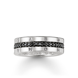 "eternity ring ""classic black"" from the Glam & Soul collection in the THOMAS SABO online store"