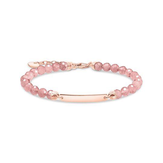 Armband rosa pärlor roséguld ur kollektionen  i THOMAS SABO:s onlineshop