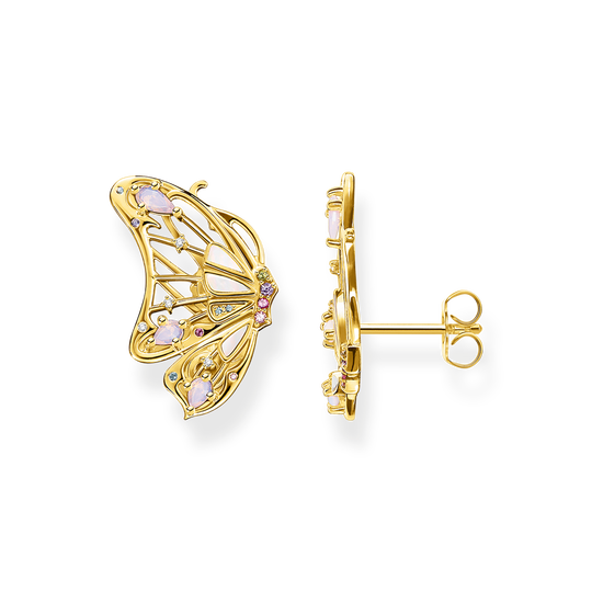 Boucles d'oreilles papillon or de la collection Glam & Soul dans la boutique en ligne de THOMAS SABO