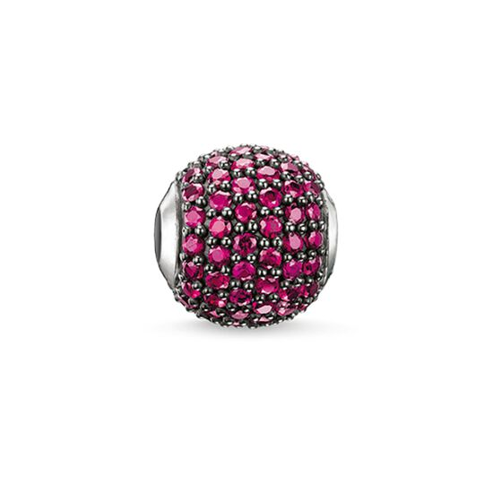 """Bead """"fiume rosso"""" from the Karma Beads collection in the THOMAS SABO online store"""
