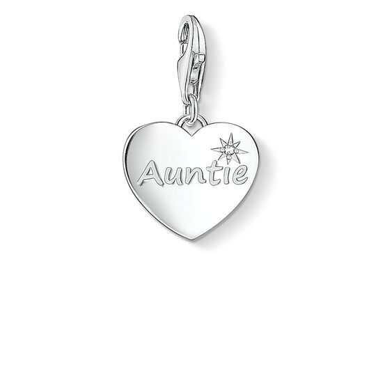 Charm pendant AUNTIE from the  collection in the THOMAS SABO online store