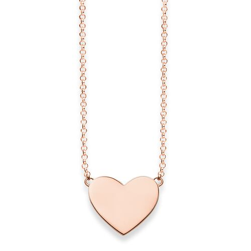 "necklace ""heart"" from the Glam & Soul collection in the THOMAS SABO online store"