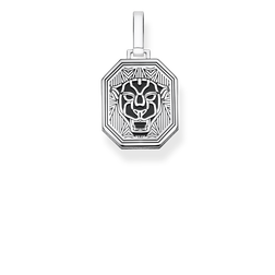 pendant Black Cat from the Rebel at heart collection in the THOMAS SABO online store
