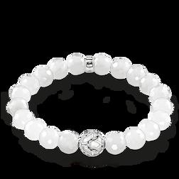 """bracelet """"fleur de lotus blanche"""" de la collection Glam & Soul dans la boutique en ligne de THOMAS SABO"""