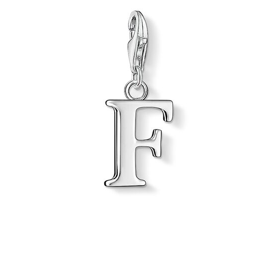 Charm pendant letter F from the  collection in the THOMAS SABO online store