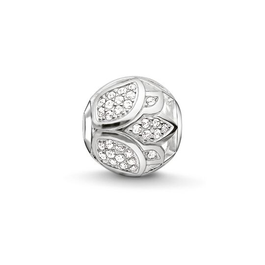 Bead pavé lotus blossom from the Karma Beads collection in the THOMAS SABO online store