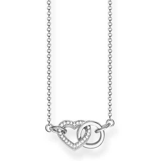 necklace heart TOGETHER small from the Glam & Soul collection in the THOMAS SABO online store