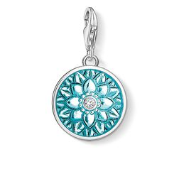 Charm pendant flower ornament from the  collection in the THOMAS SABO online store