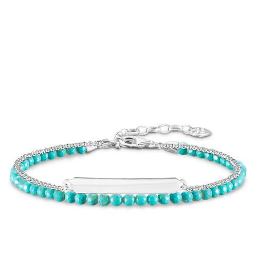 """pulsera """"turquesa"""" de la colección Love Bridge en la tienda online de THOMAS SABO"""