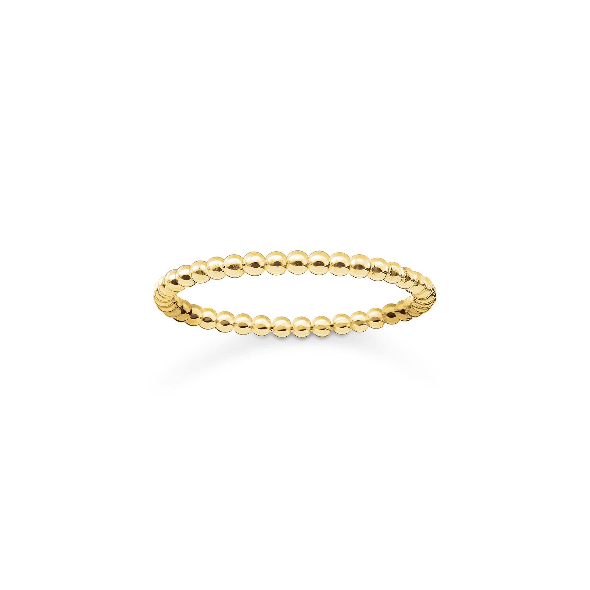 Thomas Sabo Sterling Silver Dot Ring TR2122-001-12
