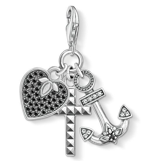 """colgante Charm """"cruz, corazón, ancla"""" de la colección  en la tienda online de THOMAS SABO"""