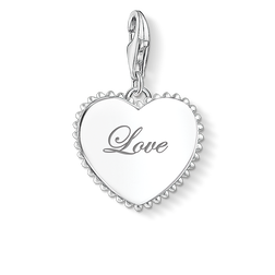 Charm pendant heart love from the Glam & Soul collection in the THOMAS SABO online store