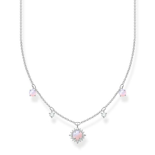 Necklace vintage shimmering pink opal-coloured stone from the Charming Collection collection in the THOMAS SABO online store