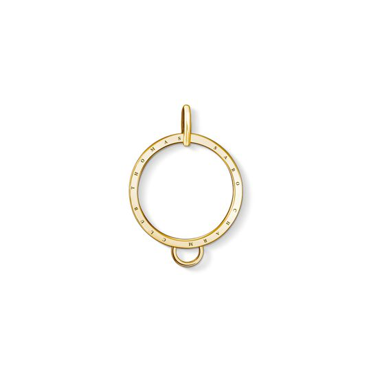 carrier circle gold from the Charm Club collection in the THOMAS SABO online store