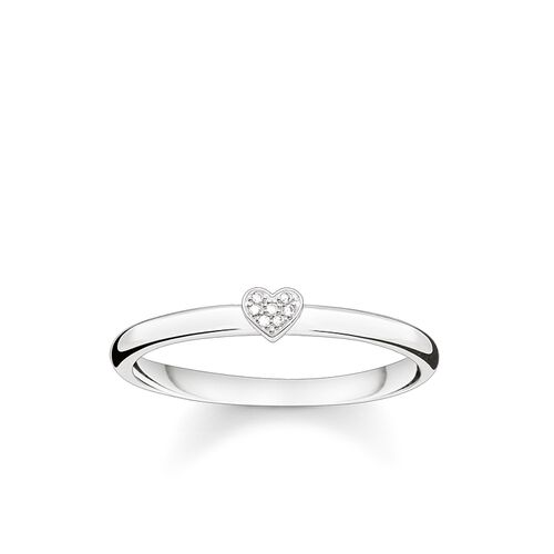 "ring ""heart"" from the Glam & Soul collection in the THOMAS SABO online store"