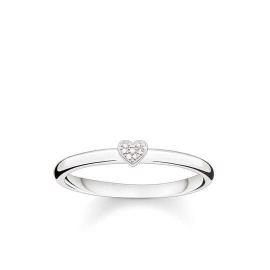 """ring """"heart"""" from the Glam & Soul collection in the THOMAS SABO online store"""