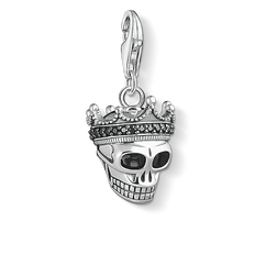 Charm pendant Skull King from the  collection in the THOMAS SABO online store