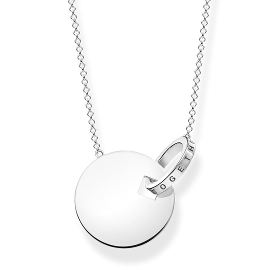 necklace large together coin with silver-coloured ring from the Glam & Soul collection in the THOMAS SABO online store