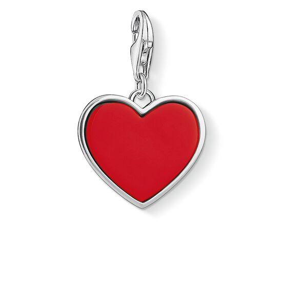 "ciondolo Charm ""cuore rosso"" from the  collection in the THOMAS SABO online store"
