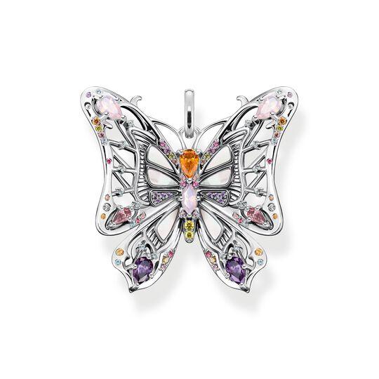 Colgante mariposa piedras de colores plata de la colección  en la tienda online de THOMAS SABO