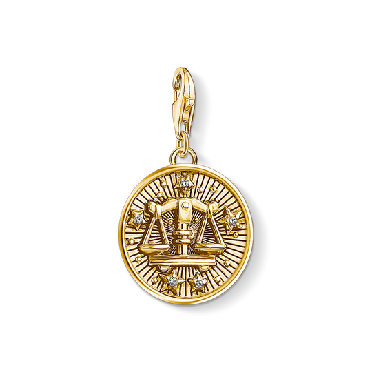 Charm pendant zodiac sign Libra from the Charm Club collection in the THOMAS SABO online store