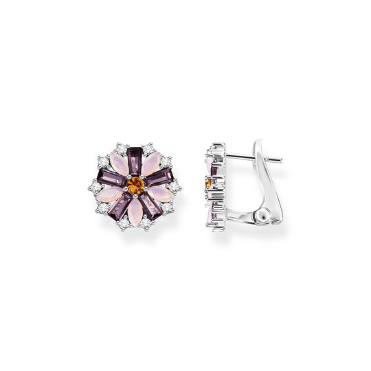 Ear Clip flower silver from the  collection in the THOMAS SABO online store