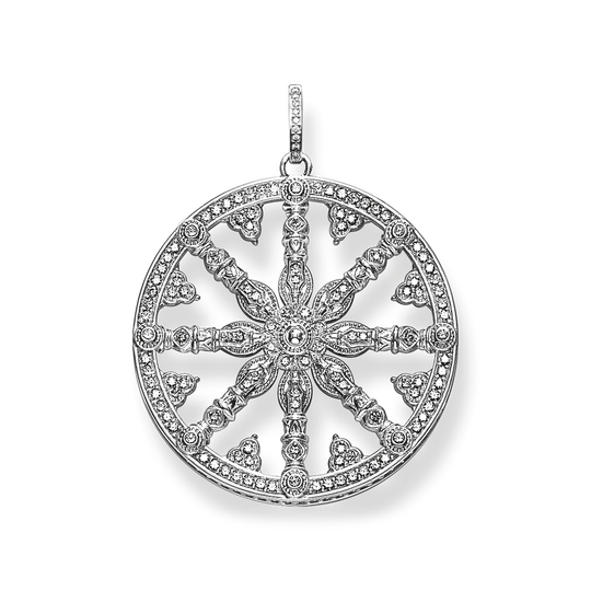 pendant white diamond Karma Wheel from the Glam & Soul collection in the THOMAS SABO online store