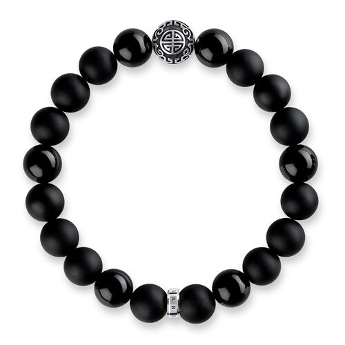 """bracelet """"ethno black"""" from the Glam & Soul collection in the THOMAS SABO online store"""
