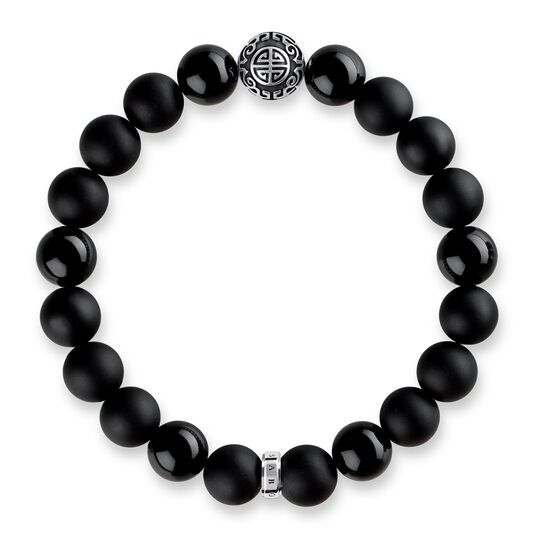 "bracelet ""ethno black"" from the Glam & Soul collection in the THOMAS SABO online store"