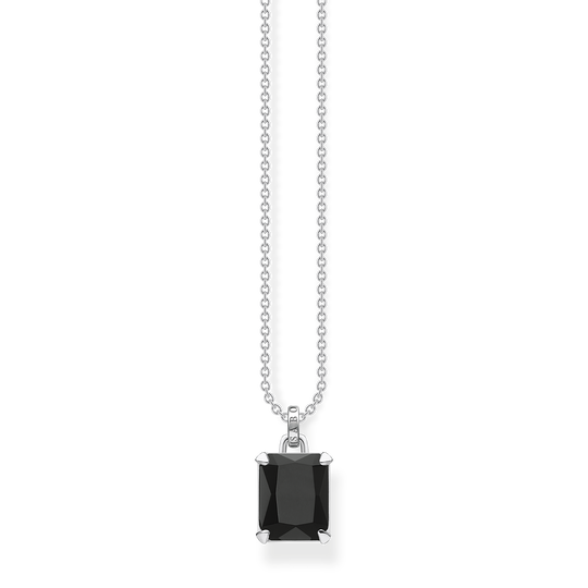 Necklace black stone from the Glam & Soul collection in the THOMAS SABO online store