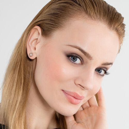 """ear studs """"classic pavé"""" from the Glam & Soul collection in the THOMAS SABO online store"""