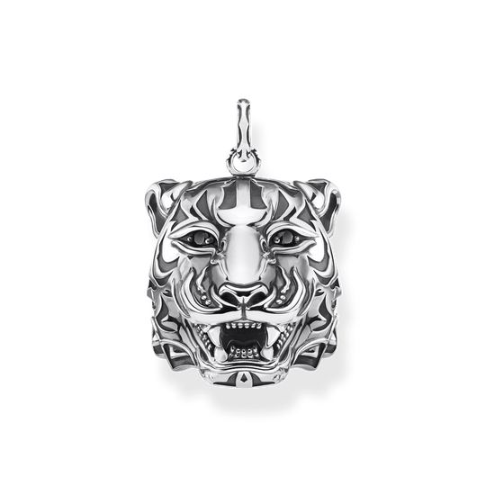 pendant tiger silver from the Rebel at heart collection in the THOMAS SABO online store