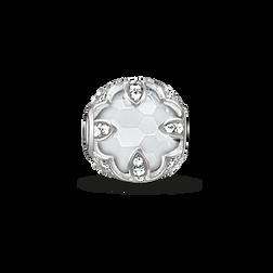 """Bead """"loto blanco"""" de la colección Karma Beads en la tienda online de THOMAS SABO"""