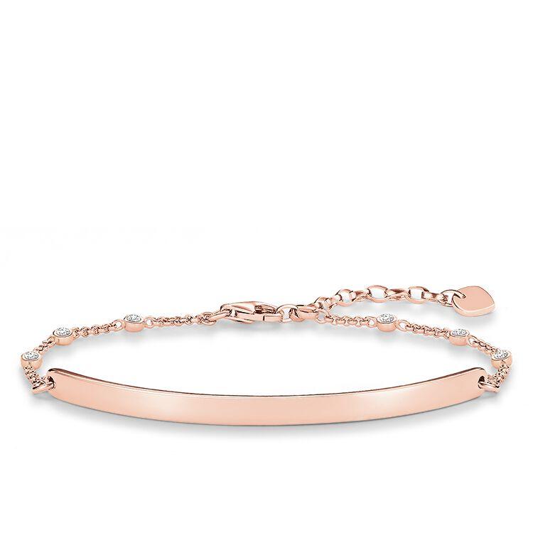 Thomas Sabo bracelet white LBA0040-416-14-L18v thumbnail