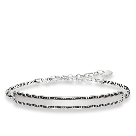 bracelet black pavé from the Love Bridge collection in the THOMAS SABO online store