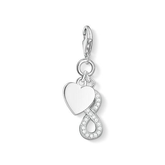 Charm-Anhänger Herz mit Infinity aus der Charm Club Kollektion im Online Shop von THOMAS SABO