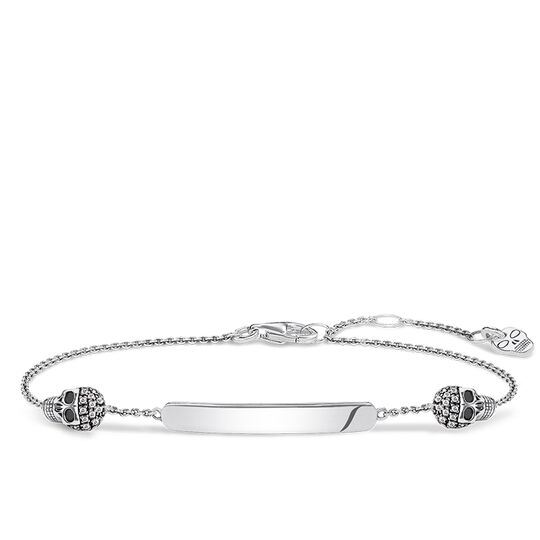 bracelet tête de mort de la collection Love Bridge dans la boutique en ligne de THOMAS SABO