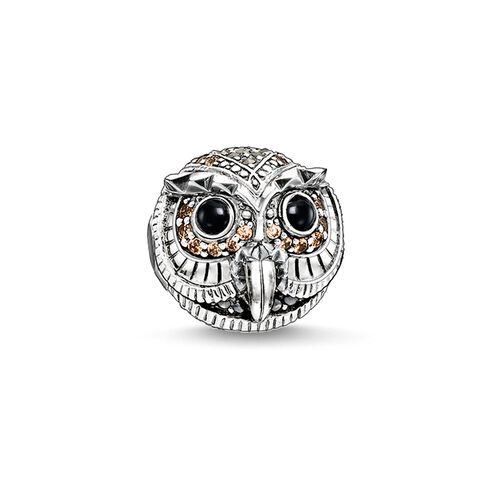 """Bead """"gufo"""" from the Karma Beads collection in the THOMAS SABO online store"""