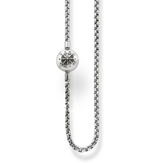 "chain for beads ""blackened"" from the Karma Beads collection in the THOMAS SABO online store"