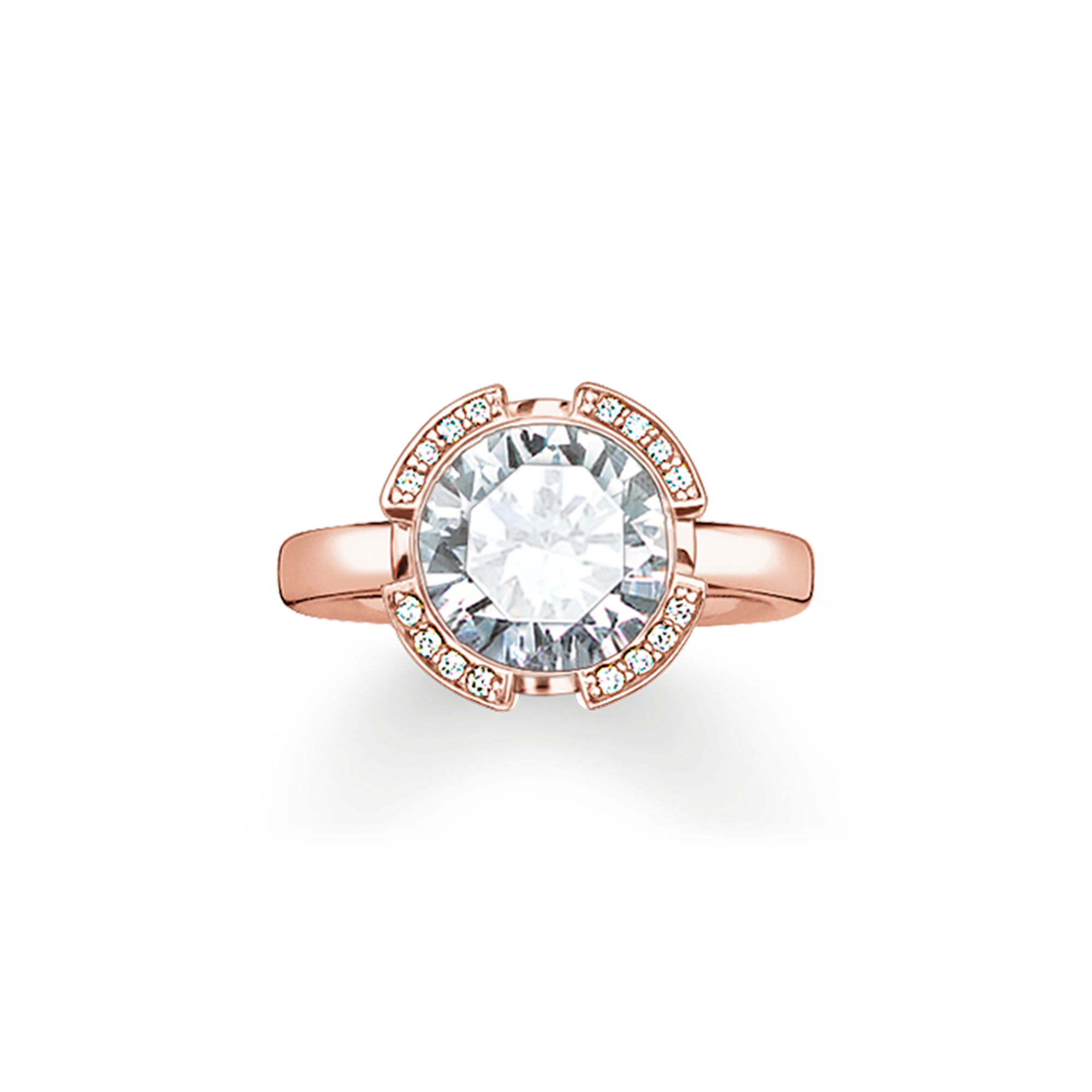 Thomas Sabo - Ring weiß - 1