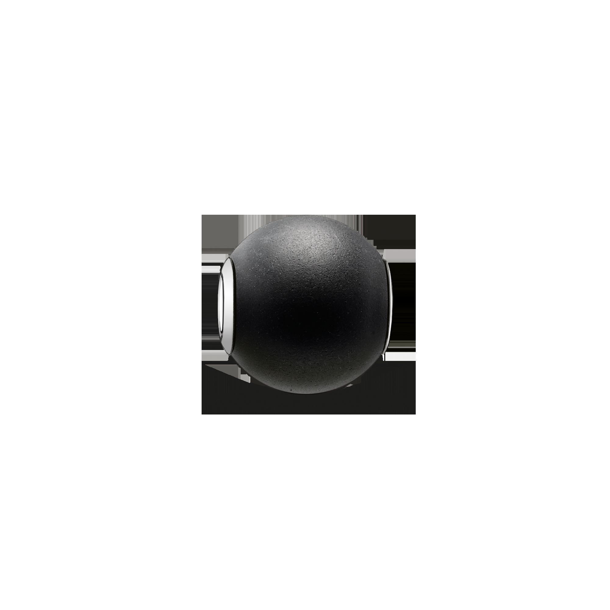 "Thomas Sabo - Bead ""obsidian matt"" - 1"