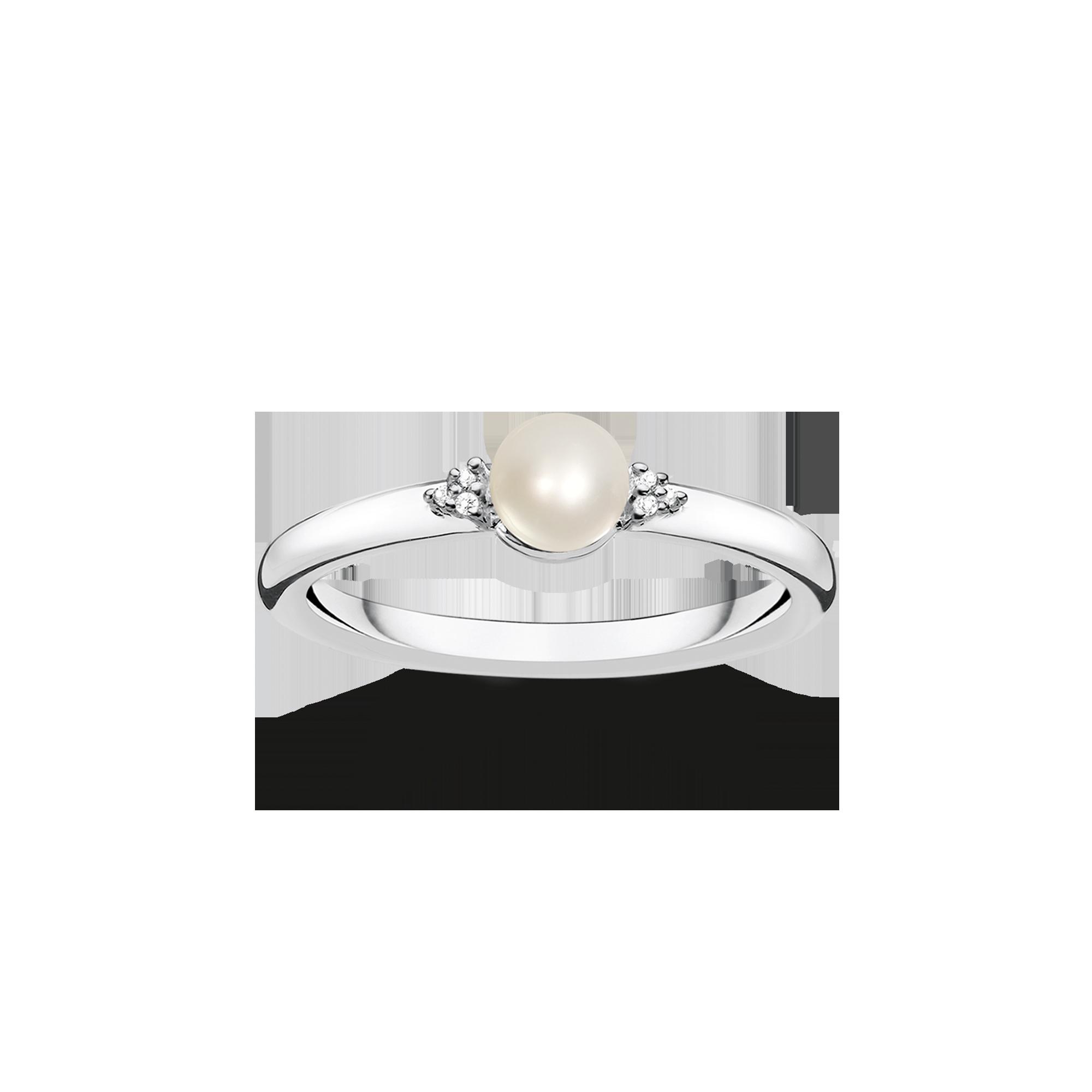 Thomas Sabo - pearl ring - 1