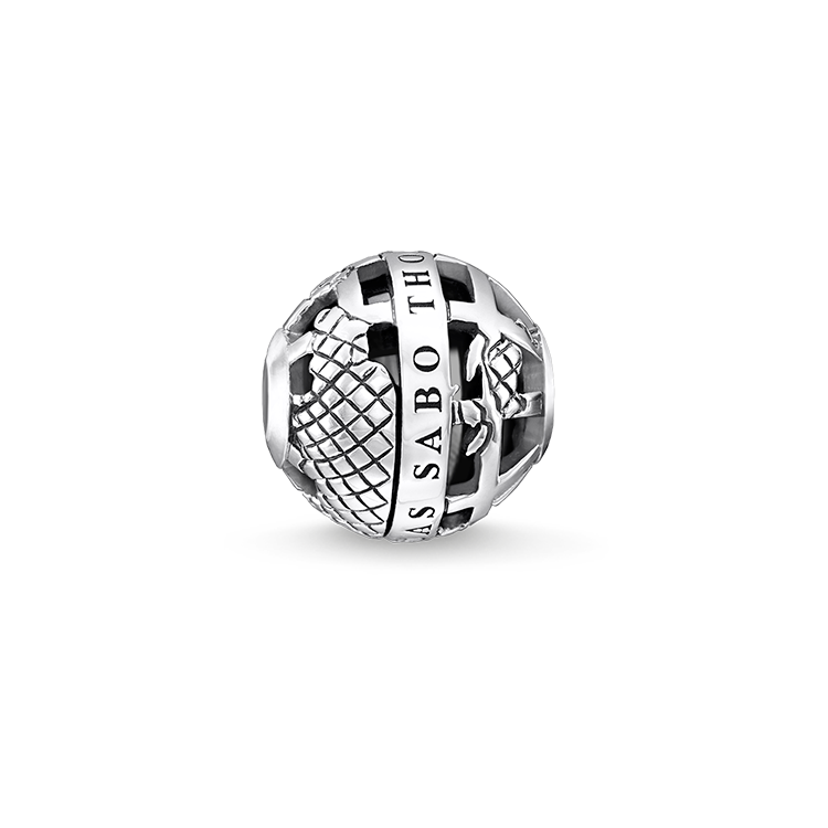"Thomas Sabo - Bead ""Black globe"" - 1"