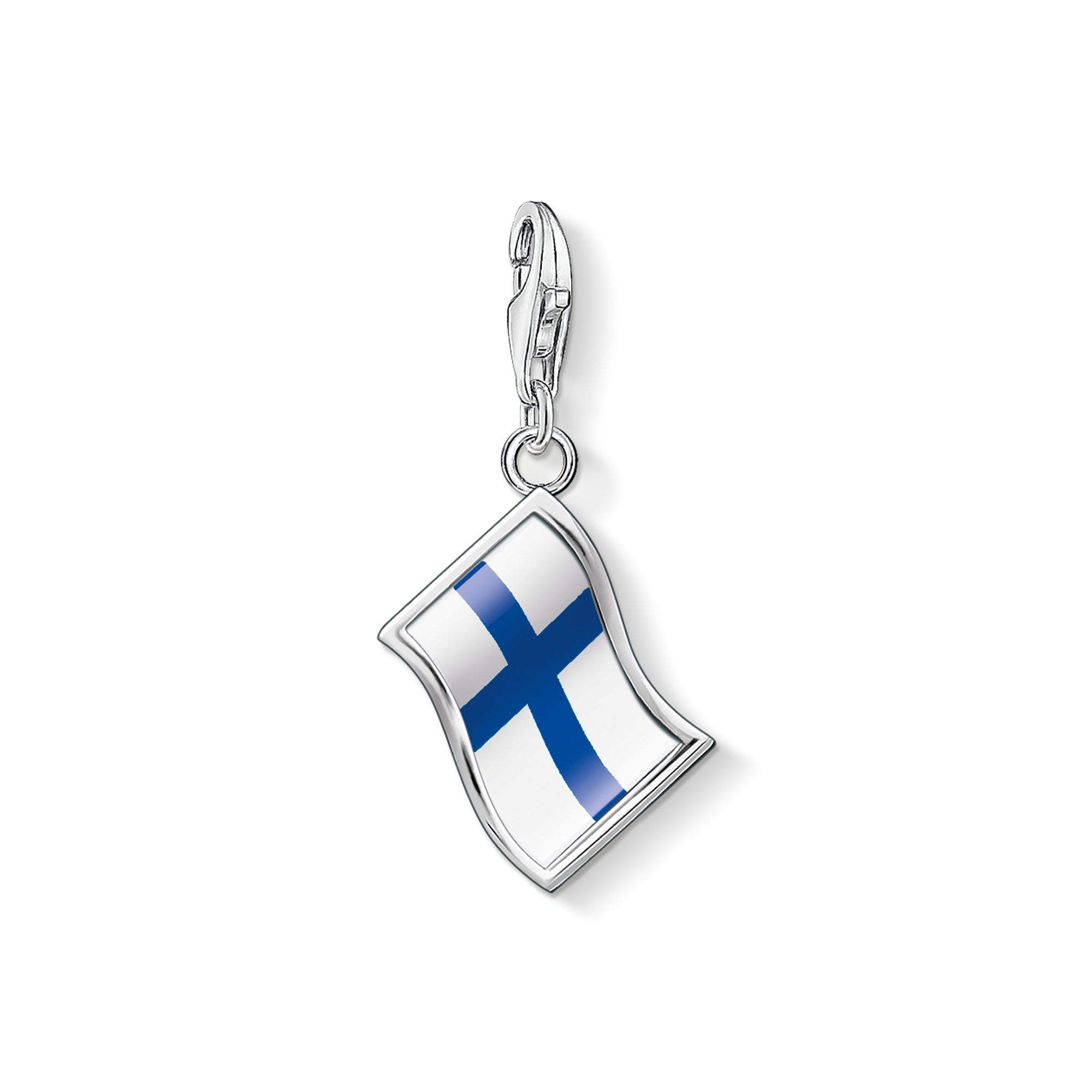 "Thomas Sabo - Charm pendant ""flag Finland"" - 1"